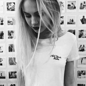 *NEW* Brandy Melville Margie Not Your Babe Shirt